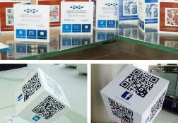 QR codes of DSOA's Social Media